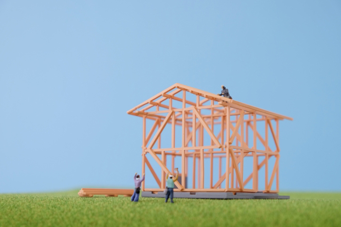 注文住宅建築の流れ